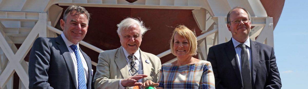 The Big Launch of RRS Sir David Attenborough